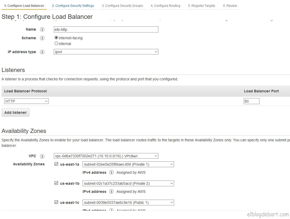 Configurando Load Balancer